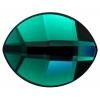 Swarovski Pure Leaf 2204 10x8mm Emerald
